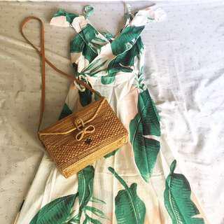 Tropical maxi dress 👗