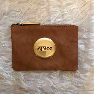 Mimco small honey pouch