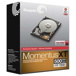 Seagate Momentus XT 500GB (7200轉混合式)硬碟