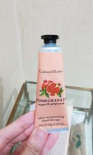 Crabtree & evelyn lotion (Pomegranate)