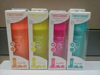 New Stocks - Twistshake Anti-Colic Bottles (Made by Sweden) - Batch 1