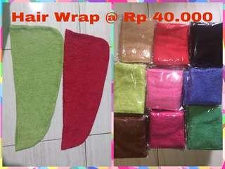 Hair Wrap aka Handuk Keramas