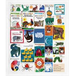 🚚 Eric Carle All 34 Books Collection Set ( Brand New )