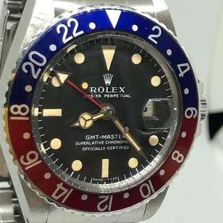 Rolex Vintage GMT Master 1675