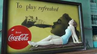 夢*想家 Coca Cola 立體木雕掛飾