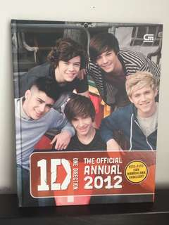 One Direction The Offical Annual 2012