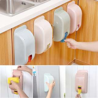 PLASTIC STORAGE DISPENSER