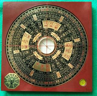 Compass: Feng Shui, Lo Pan, Luo Pan, Wealth Luck
