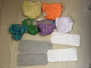cloth diapers 3-11 kg and  swim pants 8-10kg
