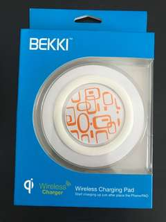 bekki wireless charging pad for iphone x 8 7 6 plus