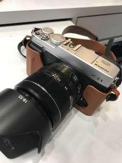 Fujifilm XE1 + 18-55mm Lens