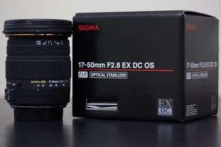 SIGMA 17-50 F2.8 EX DC OS