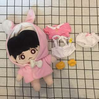 Bts jungkook fansite doll