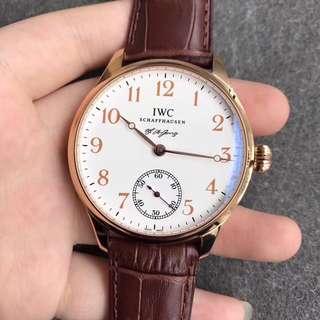 IWC Portugieser FA Jones Limited Edition 18 K Gold