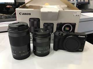 Canon EOS M3 Twin lens kit (18-55mm + 55-200mm)
