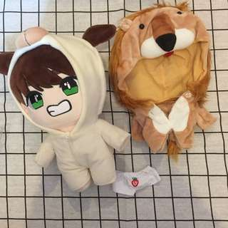Bts taehyung v fansite doll