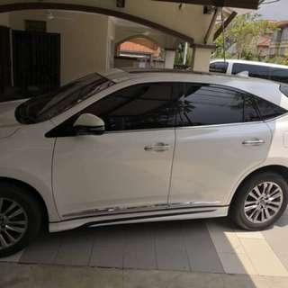 Toyota Harrier 2.0 Premium Advance highest spec