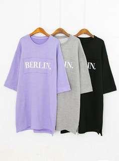 Korea Oversized long t-shirt
