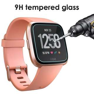 🚚 (IN STOCK) Fitbit Versa 9H Tempered Glass Screen Protector