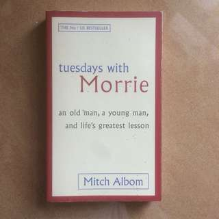 Tuesdays with Morrie (novel)