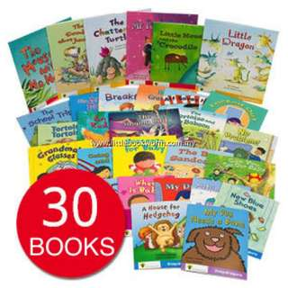 OXFORD READING TREE: SNAPDRAGONS COLLECTIONS (30 BOOKS)
