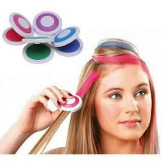 Washable hair color