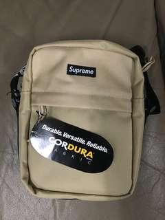 Supreme Shoulder Bag Tan