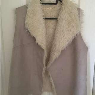 Lilya Shag Vest