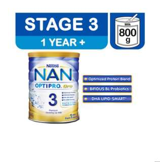 Nestle Nan Optipro Gro - Stage 3