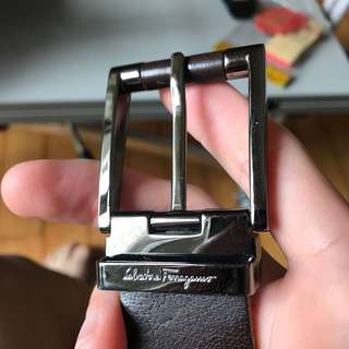 Salvatore ferragamo buckle no belt 皮帶扣