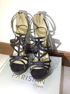 "REPRICED!! Elegant formal 3"" high heels sandals / shoes"