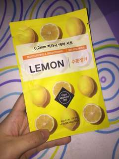 ETUDE LEMON MASK