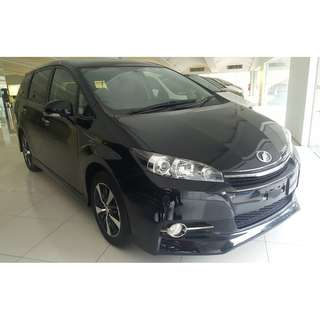 TOYOTA WISH 1.8 S MONOTONE (A) OFFER UNREG 2015