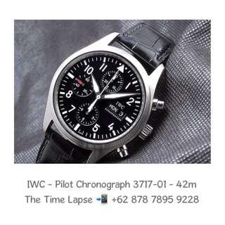 IWC - Pilot Chronograph 3717-01 - 42m