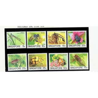 Definitives 1985 (Low Value) INSERT  SERIES