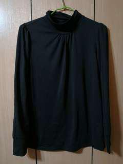 🚚 黑色長袖上衣