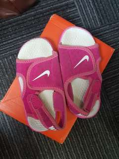 Nike Sunray Adjust 8c Sandals rubber shoes sole 4 td toddlers kids
