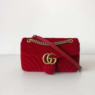 Authentic Gucci Marmont Medium Bag