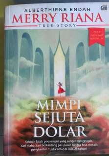 Buku Alberthiene Indah -  Merry Riana : Mimpi Sejuta