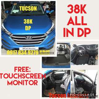 Hyundai Tucson 38K ALL IN DP WITH FREE TOUCHSCREEN MONITOR