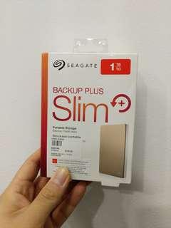 Seagate 1 Tb portable harddisk