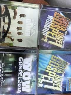 🚚 4 Gospel CDs
