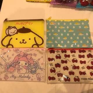 INSTOCK - Sanrio pouches