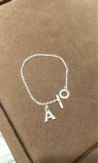 Links of London T Bar Bracelet 19cm 全新 不包charm