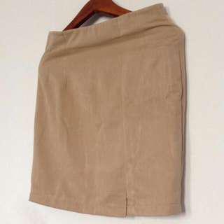 Nude Shorts Skirt