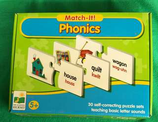 The Learning Journey: Phonics