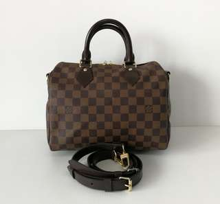 Authentic Louis Vuitton Speedy 25 Bandouliere