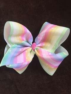 Jojo bow inspired hair bow