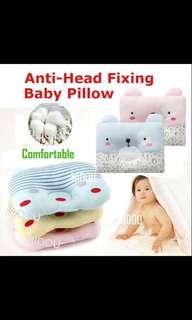 🚚 Baby Pillow /  Anti-Head Fixing Pillow / Cotton Baby Pillow