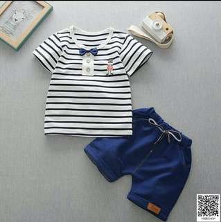 Striped Nutcracker Kids Boy Top and Pants
